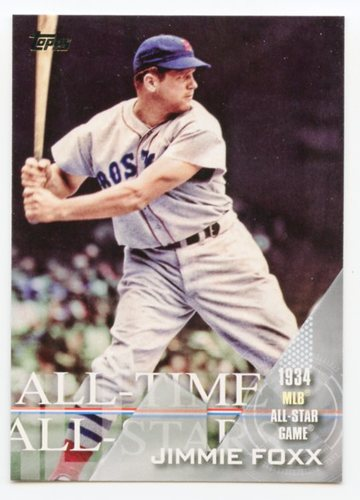Photo of 2017 Topps All Time All Stars #ATAS30 Jimmie Foxx
