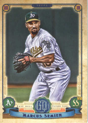Photo of 2019 Topps Gypsy Queen #201 Marcus Semien