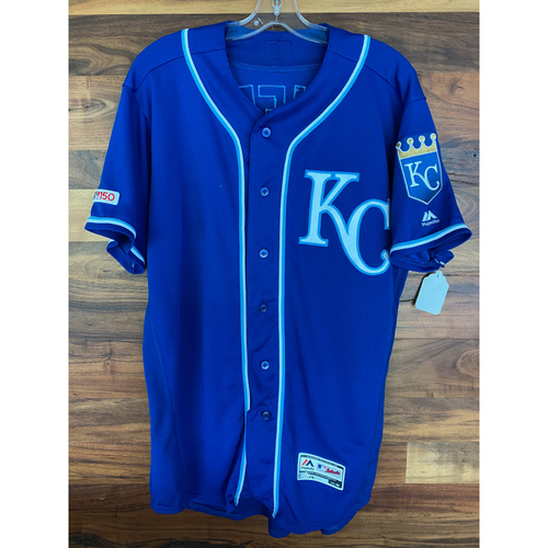 Photo of Game-Used Jersey: Danny Duffy (KC @ MIN - 9/22/19)