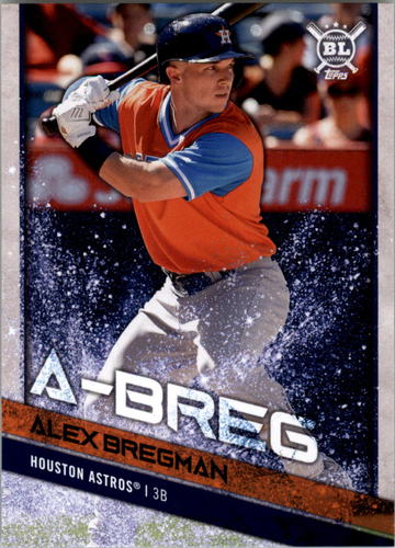 Photo of 2018 Topps Big League Players Weekend Photo Variations #287 Alex Bregman