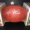 NFL - JETS MIKE WHITE SIGNED AUTHENTIC FOOTBALL