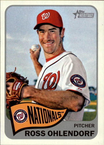 Photo of 2014 Topps Heritage #13 Ross Ohlendorf