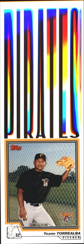 Photo of 2004 Topps Traded #T189 Yoann Torrealba FY RC