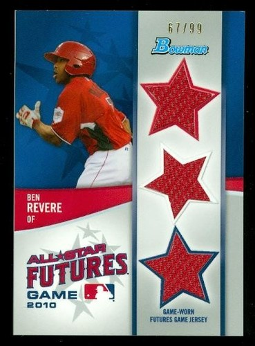 Photo of 2011 Bowman Future's Game Triple Relics #BR Ben Revere