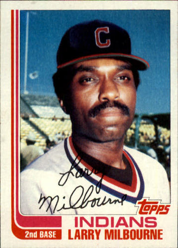 Photo of 1982 Topps Traded #71T Larry Milbourne