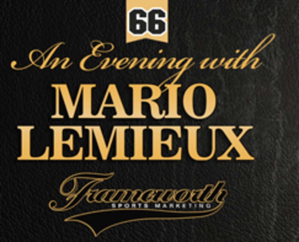 Ticket to 'An Evening with Mario Lemieux' Hosted at Frameworth