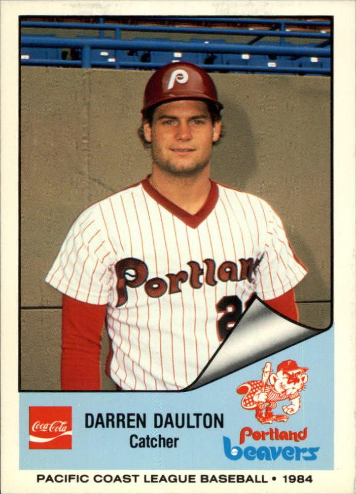 1984 Portland Beavers Cramer #198 Darren Daulton