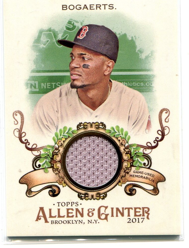 2017 Topps Allen and Ginter Relics Xander Bogaerts Jersey