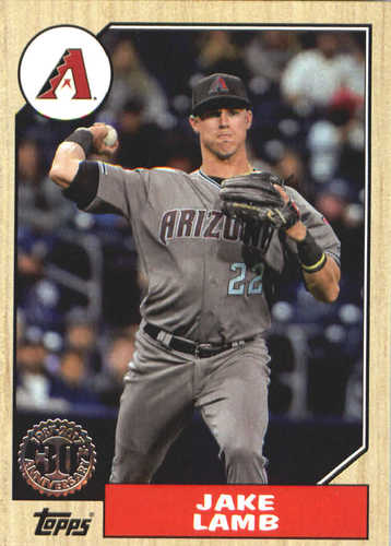 Photo of 2017 Topps Update '87 Topps #US8726 Jake Lamb