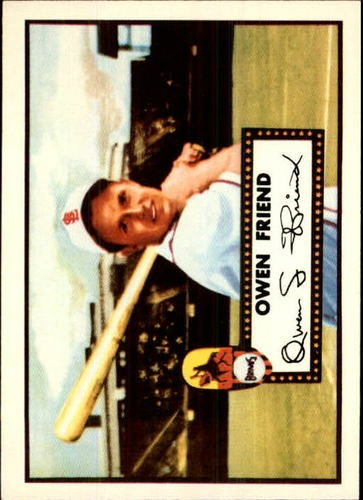 Photo of 1983 Topps 1952 Reprint #160 Owen Friend
