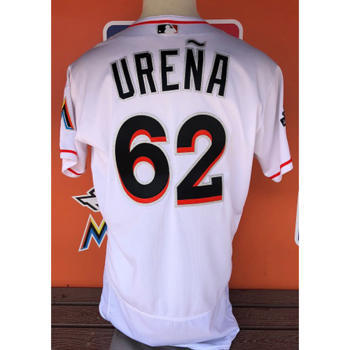 Photo of Game-Used Jersey: Jose Ureña (Home Opener) Size: 46