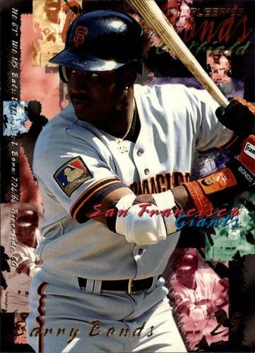 Photo of 1995 Fleer #574 Barry Bonds