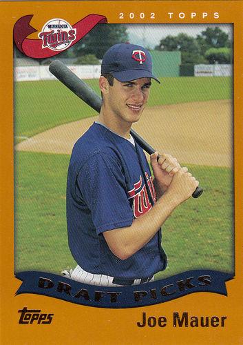 Photo of 2002 Topps #622 Joe Mauer Rookie Card