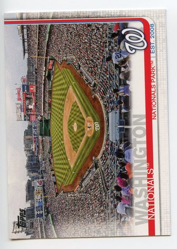 Photo of 2019 Topps #341 Nationals Park