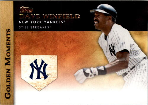 Photo of 2012 Topps Golden Moments Series 2 #GM20 Dave Winfield