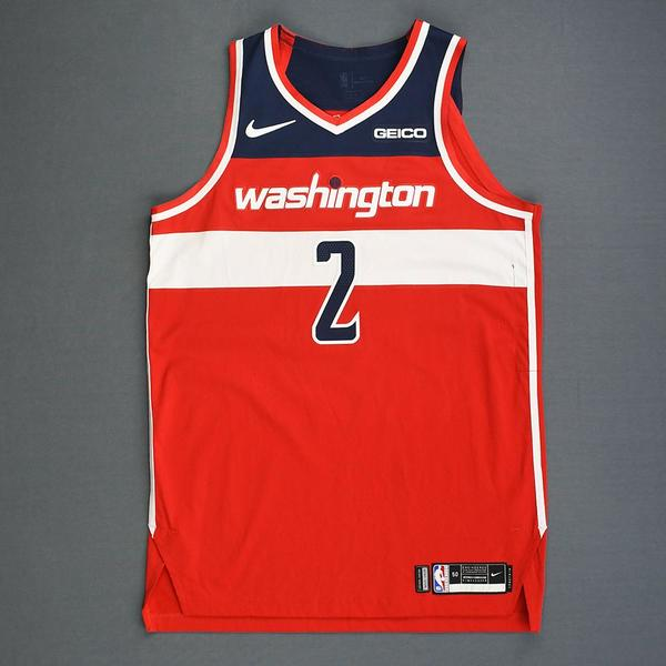 b82c6ff852c John Wall - Red Icon Edition - Worn 12 14 18 - 1 of 2 (Recorded a D..