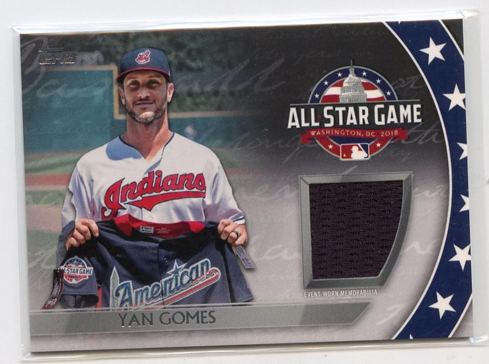 2018 Topps Update All Star Stitches #ASTYG Yan Gomes