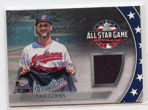 Photo of 2018 Topps Update All Star Stitches #ASTYG Yan Gomes