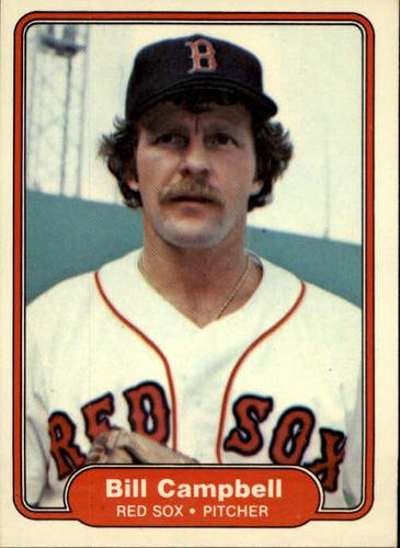 Photo of 1982 Fleer #289 Bill Campbell