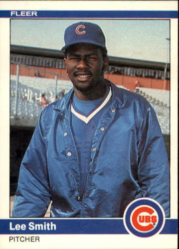 Photo of 1984 Fleer #505 Lee Smith
