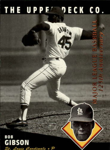 Photo of 1994 Upper Deck All-Time Heroes #130 Bob Gibson