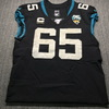 London Games - Jaguars Brandon Linder Game Used Jersey (11/3/19) Size 46 with 25 Seasons Patch and Captains Patch