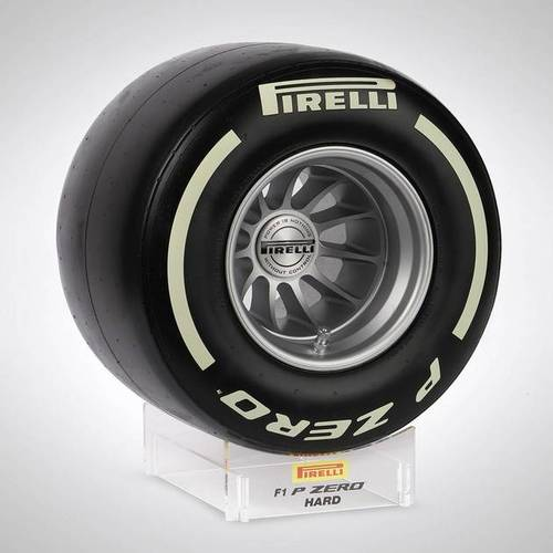 Photo of Pirelli Wind Tunnel Tyre - White Hard Compound