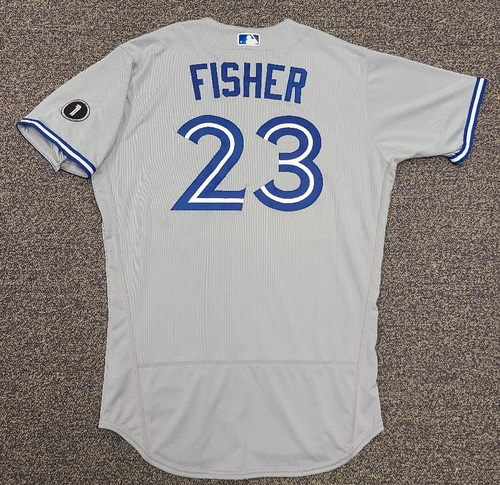 Photo of Authenticated Team Issued Jersey: #23 Derek Fisher (2020 Season). Set 2. Size 46.