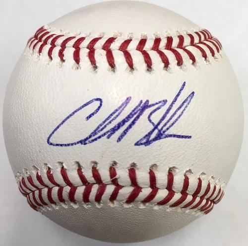 Charlie Blackmon Autographed Baseball