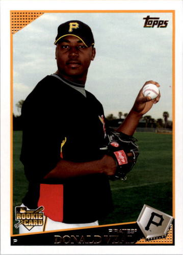 Photo of 2009 Topps #637 Donald Veal RC