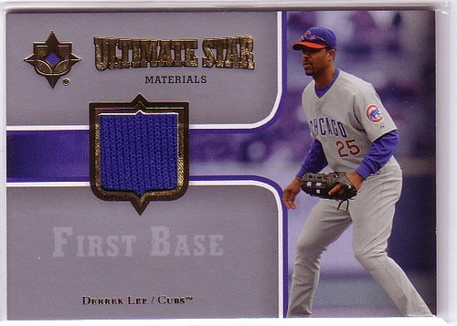 Photo of 2007 Ultimate Collection Ultimate Star Materials #DL Derrek Lee