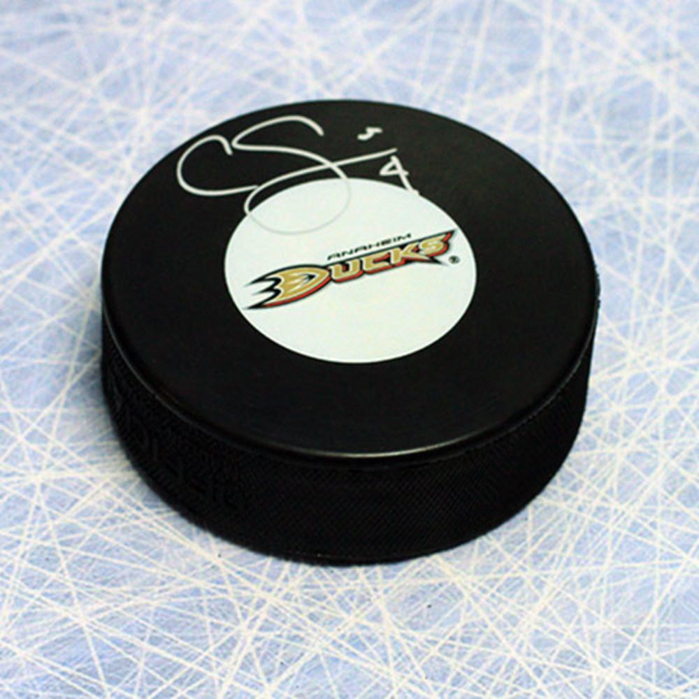 Cam Fowler Anaheim Ducks Autographed Hockey Puck