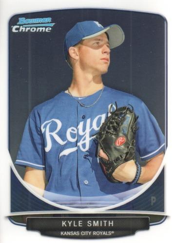 Photo of 2013 Bowman Chrome Prospects #BCP205 Kyle Smith