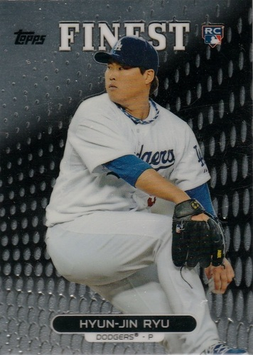 Photo of 2013 Finest #47 Hyun-Jin Ryu Rookie Card