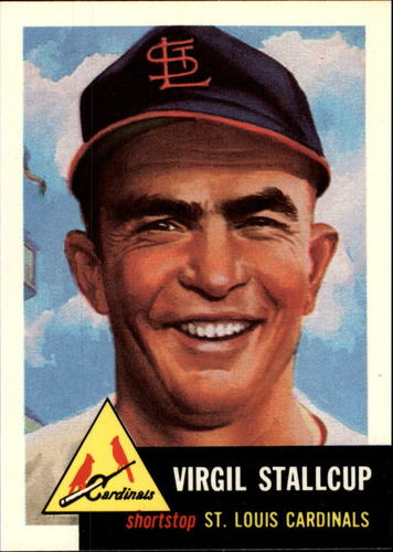 Photo of 1991 Topps Archives 1953 #180 Virgil Stallcup