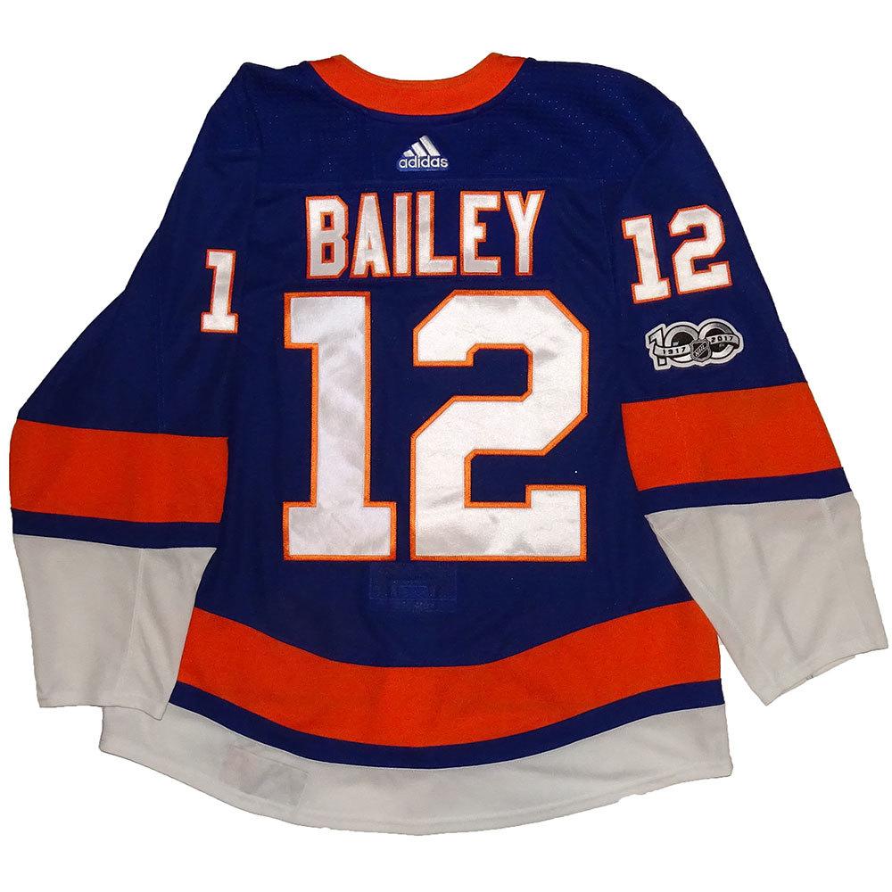 Josh Bailey - Game Worn Home Jersey - 2017-18 Season - New York Islanders