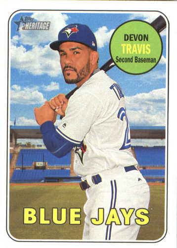 Photo of 2018 Topps Heritage #154 Devon Travis