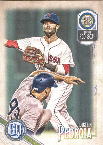 Photo of 2018 Topps Gypsy Queen #267 Dustin Pedroia