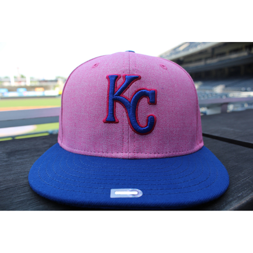 Photo of Game-Used Mother's Day Cap: Blaine Boyer (Size 7 1/8 - KC at CLE - 5/13/18)