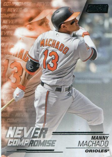 Photo of 2018 Stadium Club Never Compromise #NCMM Manny Machado