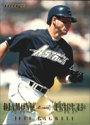Photo of 1995 Fleer Update Diamond Tribute #1 Jeff Bagwell