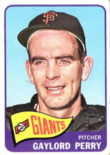 Photo of 1965 Topps #193 Gaylord Perry