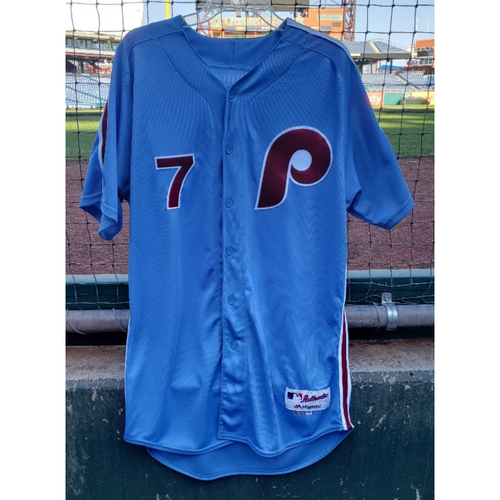 Photo of 2018 Game-Used Maikel Franco Jersey - Walk-Off HR