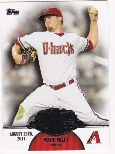 Photo of 2013 Topps Making Their Mark #MM18 Wade Miley