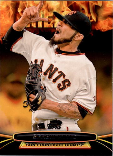 Photo of 2014 Topps Opening Day Fired Up #UP5 Sergio Romo