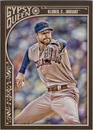 Photo of 2015 Topps Gypsy Queen #95 Corey Kluber