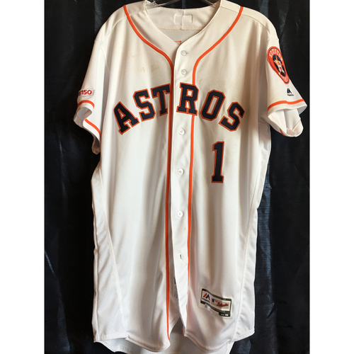 Photo of Carlos Correa Game-Used 2019 Jersey - 4/10/19 vs NYY