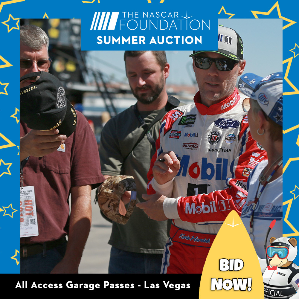 All Access Garage Passes at Las Vegas benefitting The Paralyzed Veterans of America!