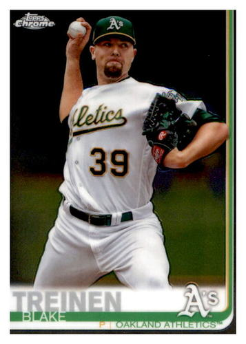 Photo of 2019 Topps Chrome #144 Blake Treinen