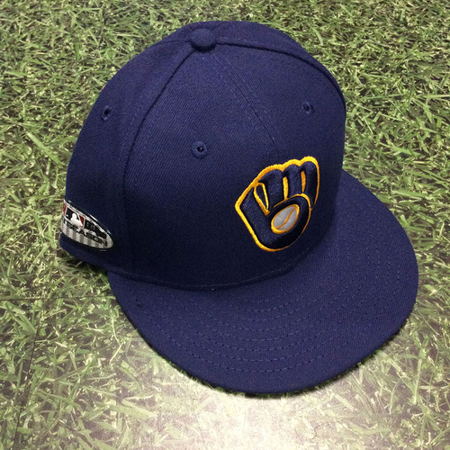 Orlando Arcia 2018 Team-Issued Postseason Cap